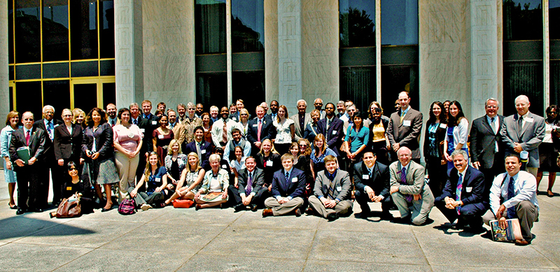 NCCGS members at the capital on North Carolina Graduate Education Day 2011